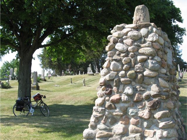 Black Hoof monument