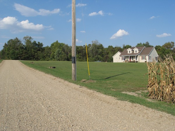 Likely site of the McCoy mission on section 33, Raccoon Twp