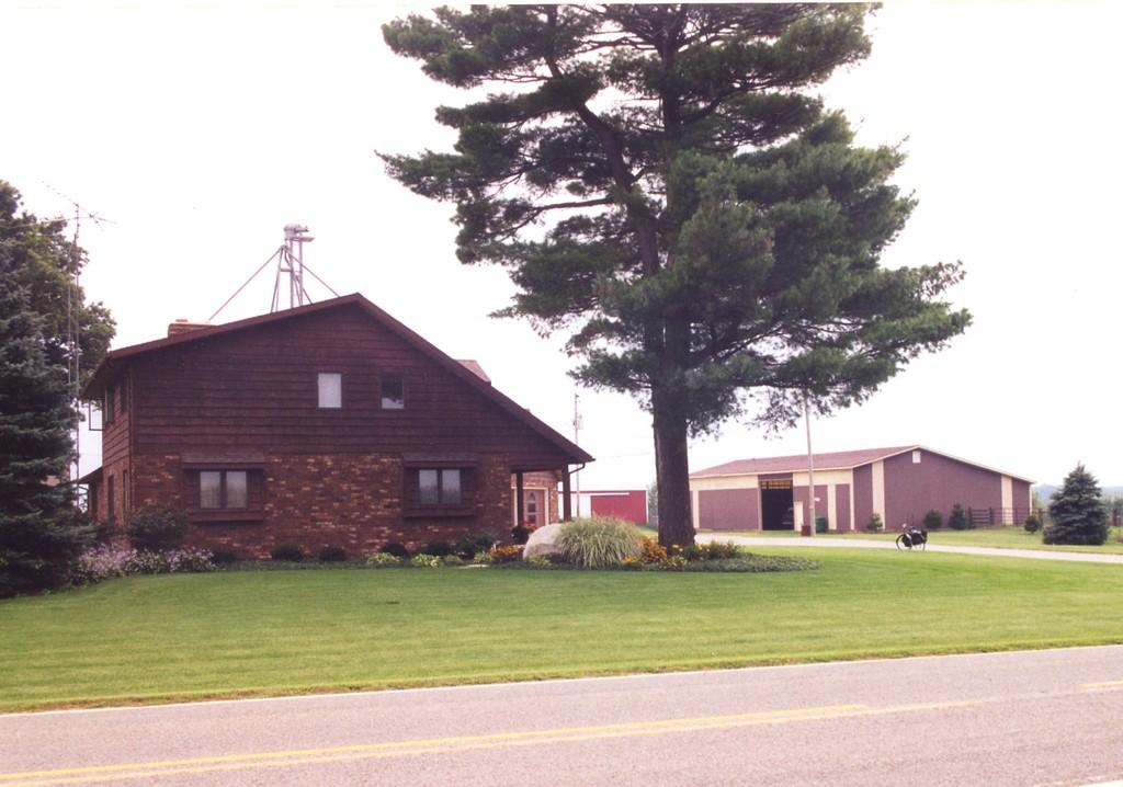 Orlean Putnam's farm in Cass County MI