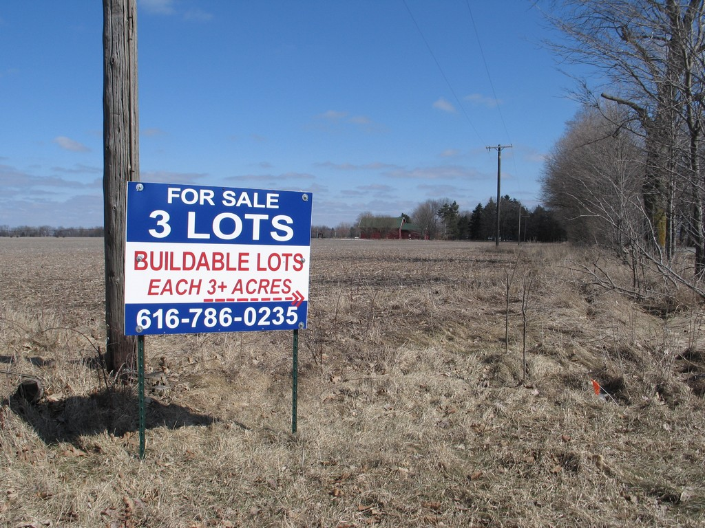 Andrew Hays' land is up for sale again