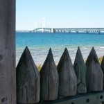 Fort Michilimackinac and Bridge