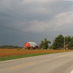 Racing the rain to Upper Sandusky