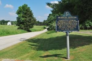 Red Bridge and Frances Slocum cemetery