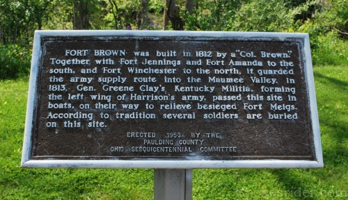 Fort Brown marker