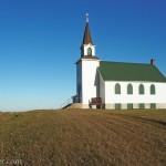 Historic James River Church east of Carrington