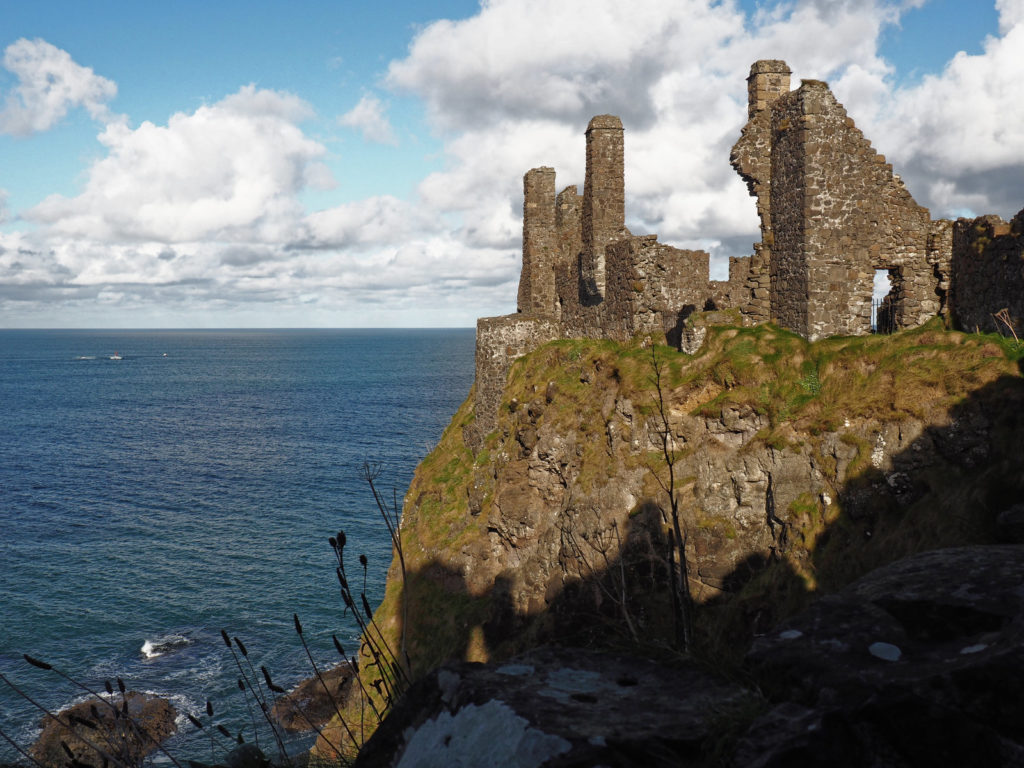 At Dunluce Castle