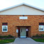 Onondaga Township Hall - main door