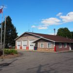 Campbell Township Hall in Ionia County, Michigan (12 Sep 2016)