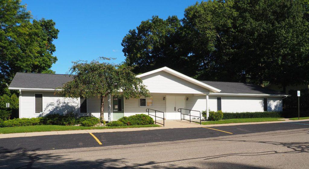 Boston Township Hall in Saranac in Ionia County, Michigan (12 Sep 2016)