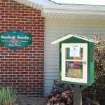 Schoolcraft Township Hall - Little free Library (12 May 2017)
