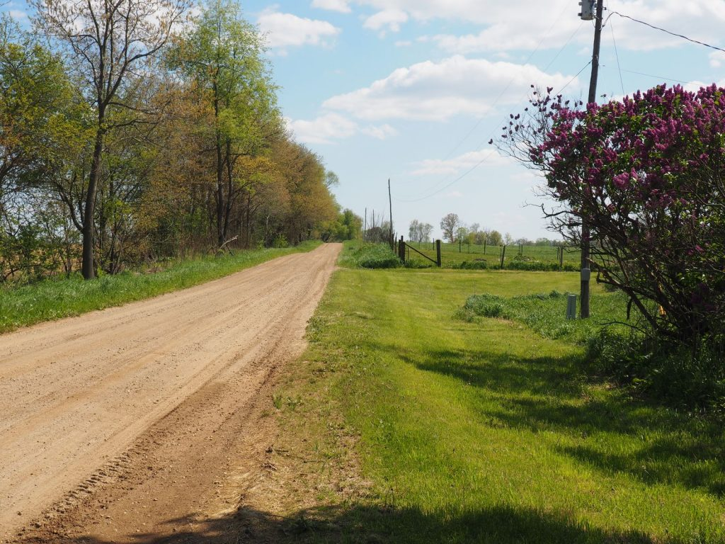 Looking south on Brown Jug Road